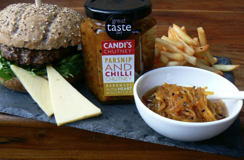 Candi's Chutney- the very essence of East Anglia
